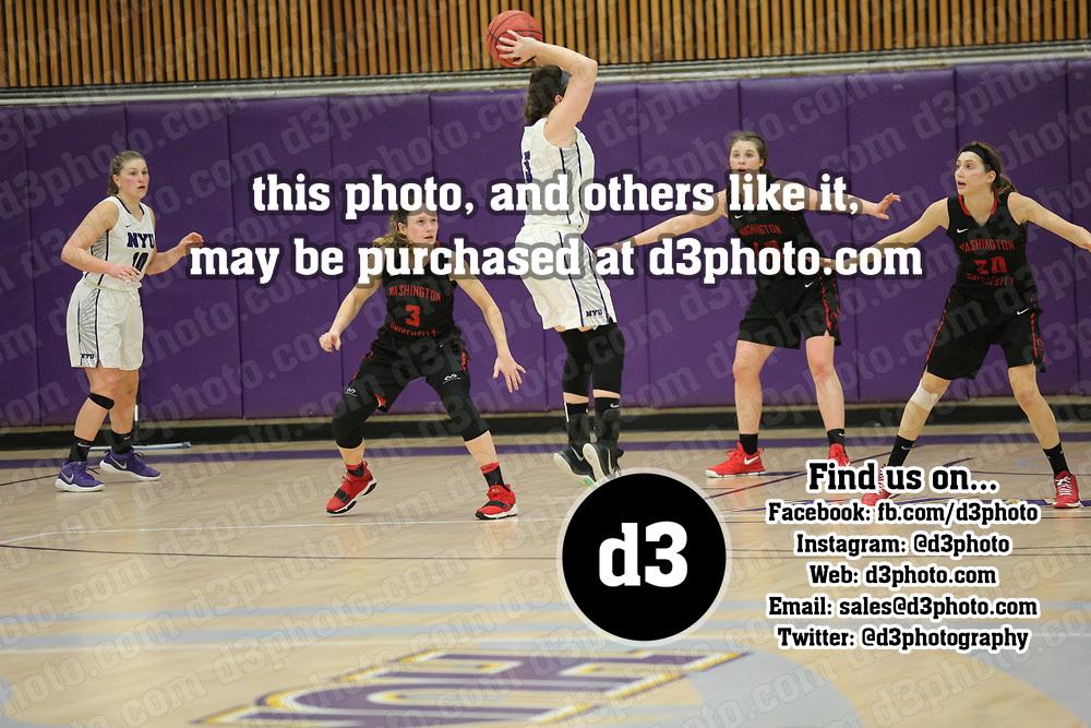 Women's Basketball: New York University Violets vs. Washington University (Missouri) Bears