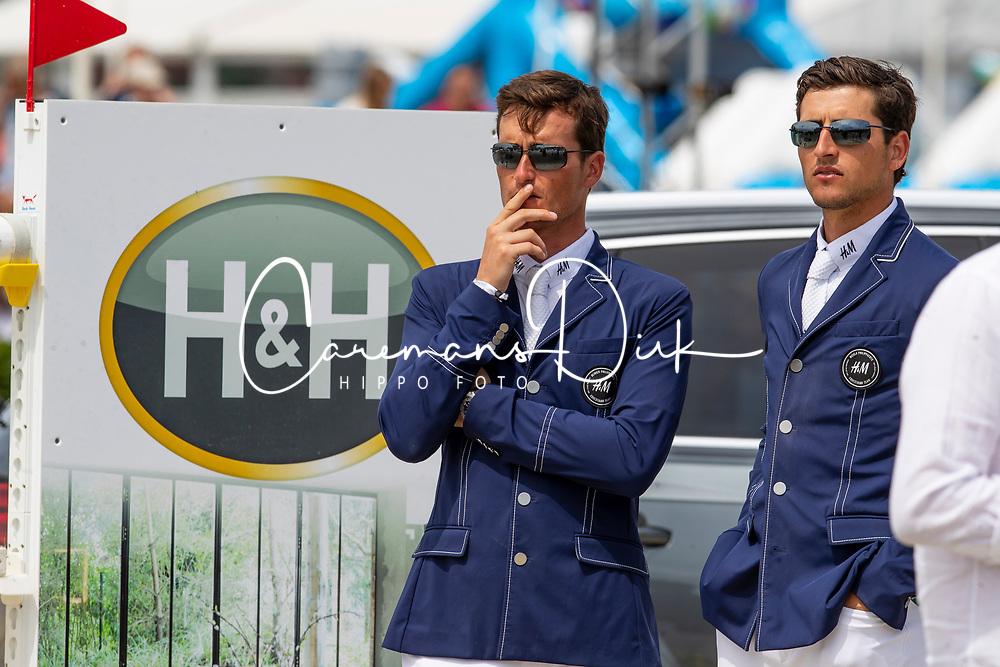 Philippaerts Olivier, Philippaerts Nicola, BEL<br /> Grand Prix Rolex powered by Audi <br /> CSI5* Knokke 2019<br /> © Hippo Foto - Dirk Caremans<br /> 30/06/2019