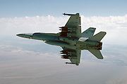 F/A-18A Hornet, USMC, with 500-lb MK 82 bombs