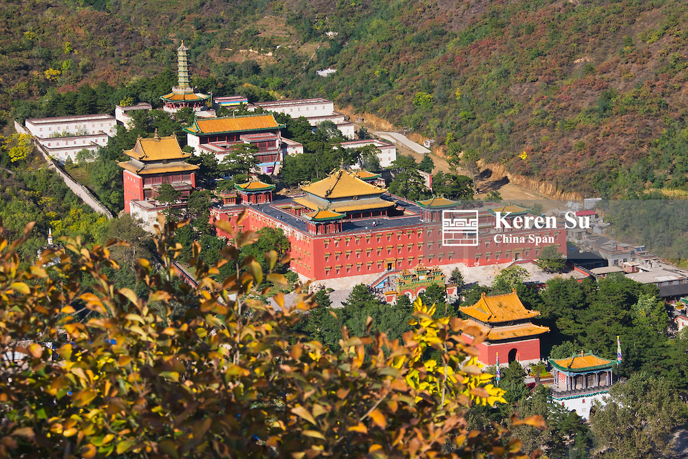 Xumifushou Temple, Chengde Mountain Resort and its Outlying Temples (UNESCO World Heritage site), Hebei, China