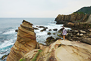 A tourist investigates the amazing geology of Taiwan's east coast.