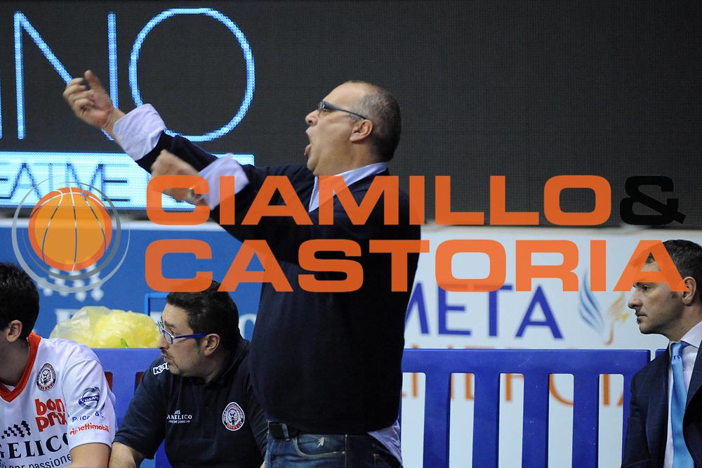 DESCRIZIONE : Biella Lega A 2012-13 Angelico Biella Enel Brindisi<br /> GIOCATORE : Marco Atripaldi<br /> CATEGORIA : Delusione<br /> SQUADRA : Angelico Biella<br /> EVENTO : Campionato Lega A 2012-2013 <br /> GARA : Angelico Biella Enel Brindisi<br /> DATA : 23/12/2012<br /> SPORT : Pallacanestro <br /> AUTORE : Agenzia Ciamillo-Castoria/M.Ceretti<br /> Galleria : Lega Basket A 2012-2013  <br /> Fotonotizia : Biella Lega A 2012-13 Angelico Biella Enel Brindisi<br /> Predefinita :