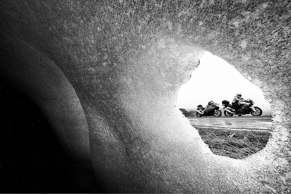 The Eye<br /> Through an ice wall, Australia