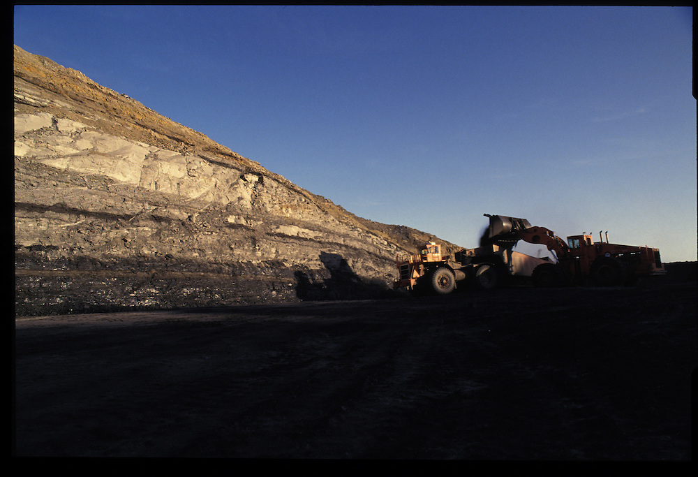 Pittsberg and Midway Coal Mine.  Tse Bonito, NM  1993