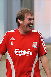 LIVERPOOL, ENGLAND - Tuesday, May 12, 2009: Ex-Liverpool player  and manager Kenny Dalglish during a training session at Melwood as the players prepare for the Hillsborough Memorial Game in aid of the Marina Dalglish Appeal which will be staged at Anfield on May 14. (Photo by Dave Kendall/Propaganda)