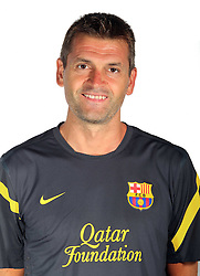 24.08.2011, Barcelona, ESP, FC Barcelona Fotocall, im Bild Portrait von Second Coach Tito Vilanova, EXPA Pictures © 2011, PhotoCredit: EXPA/ Alterphotos/ ALFAQUI/ Gregorio