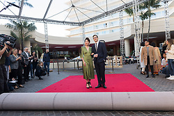 Rollout of the Red Carpet for the Golden Globes 2019 at the Beverly Hilton Hotel in Beverly Hills, CA. January 3, 2019