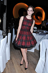 EMMA WATSON at the GQ Men of the Year 2011 Awards dinner held at The Royal Opera House, Covent Garden, London on 6th September 2011.