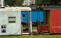 Railway cars in Tilton, NH.   © Karen Bobotas Photographer