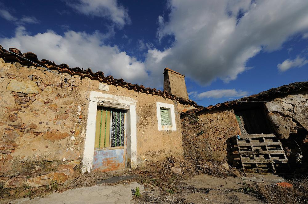 Land abandonment<br /> Ciudad rodrigo, Salamanca Region, Castilla y Le&oacute;n, Spain