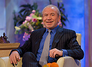 Lord Alan Sugar on The Alan Titchmarsh Show / Image Can be licensed for use at www.rexfeatures.com