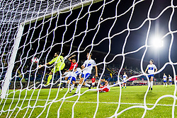 October 5, 2017 - San Marino, SAN MARINO - 171005 Joshua King of Norway scores 3-0 during the FIFA World Cup Qualifier match between San Marino and Norway on October 5, 2017 in San Marino. .Photo: Fredrik Varfjell / BILDBYRN / kod FV / 150027 (Credit Image: © Fredrik Varfjell/Bildbyran via ZUMA Wire)