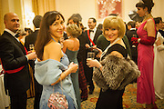 TATIANA BONDAR; LANA CHICHINA, THE ST PETERSBURG BALL in aid of the Children's Burns Trust. Landmark Hotel. London. 2 February 2013