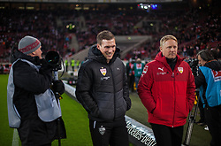 December 8, 2017 - Stuttgart, Germany - Stuttgarts coach Hannes Wolf makes his way to the bench during the Bundesliga match between VfB Stuttgart and Bayer 04 Leverkusen at Mercedes-Benz Arena on December 8, 2017 in Stuttgart, Germany. (Credit Image: © Bartek Langer/NurPhoto via ZUMA Press)