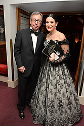 OLGA BALAKLEETS and xxxx at the Ave Maya Ballet gala in memory of Maya Plisetskava held at the English National Opera, St.Martin's Lane, London on 6th March 2016.