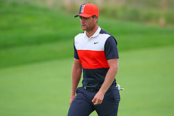 May 19, 2019 - Farmingdale, NY, U.S. - FARMINGDALE, NY - MAY 19:  Lucas Bjerregaard of Denmark on the 18th hole during the final round of the 2019 PGA Championship at the Bethpage Black course with a score of 8 under par on May 19, 2019 in Farmingdale, New York.(Photo by Rich Graessle/Icon Sportswire) (Credit Image: © Rich Graessle/Icon SMI via ZUMA Press)