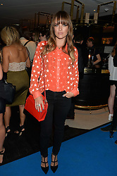 NATALIE LUKAITIS at the Maybelline New York: Party, part of the London Fashion Week Spring Summer 15 held at Tredwell's, 4a Upper St Martins Lane, London on 12th September 2014.