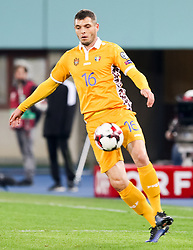 24.03.2017, Ernst Happel Stadion, Wien, AUT, FIFA WM 2018 Qualifikation, Oesterreich vs Moldawien, Gruppe D, im Bild Vadim Bolohan (MDA) // during the FIFA World Cup 2018, group D qualifying match between Austria and Moldova at the Ernst Happel Stadion in Wien, Austria on 2017/03/24. EXPA Pictures © 2017, PhotoCredit: EXPA/ Alexander Forst
