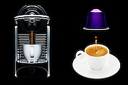 The Nespresso system produces high quality espresso coffee with exceptional quality and great reliability. A capsule based system it takes the guesswork and mess out of making good coffee.