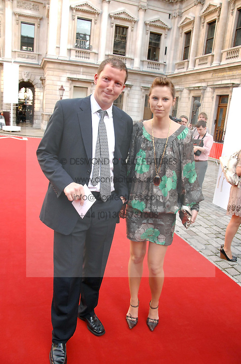 The HON.NAT ROTHSCHILD and PETRINA KHASHOGGI at the Royal Academy of Art Summer Exhibition Preview Party on 4th June 2008.<br /><br />NON EXCLUSIVE - WORLD RIGHTS