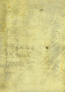 Close up of an ancient blank parchment page