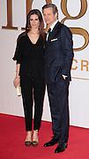 "Jan 14, 2015 - ""Kingsman: The Secret Service"" - World Premiere - Red Carpet Arrivals at Odeon,  Leicester Square, London<br /> <br /> Pictured: Colin Firth, Livia Giuggioli<br /> ©Exclusivepix Media"