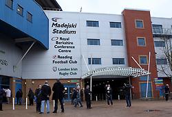 The Madejski Stadium - Photo mandatory by-line: Robbie Stephenson/JMP - Mobile: 07966 386802 - 28/02/2015 - SPORT - Football - Reading - Madejski Stadium - Reading v Nottingham Forest - Sky Bet Championship