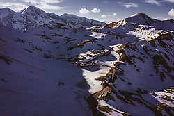 THEMENBILD - Blick auf Edelweissspitze in der Abendsonne. Die Grossglockner Hochalpenstrasse verbindet die beiden Bundeslaender Salzburg und Kaernten und ist als Erlebnisstrasse vorrangig von touristischer Bedeutung, aufgenommen am 02. Juni 2019 in Fusch a. d. Grossglocknerstrasse, Österreich // View of Edelweiss Spitze in the evening sun. The Grossglockner High Alpine Road connects the two provinces of Salzburg and Carinthia and is as an adventure road priority of tourist interest, Fusch a. d. Grossglocknerstrasse, Austria on 2019/06/02. EXPA Pictures © 2019, PhotoCredit: EXPA/ JFK