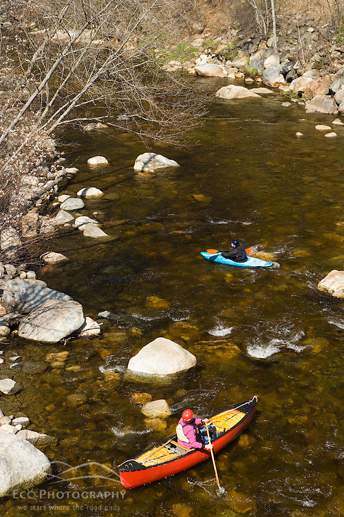 Canoeing and kayaking the Ashuelot River in Surry New Hampshire USA