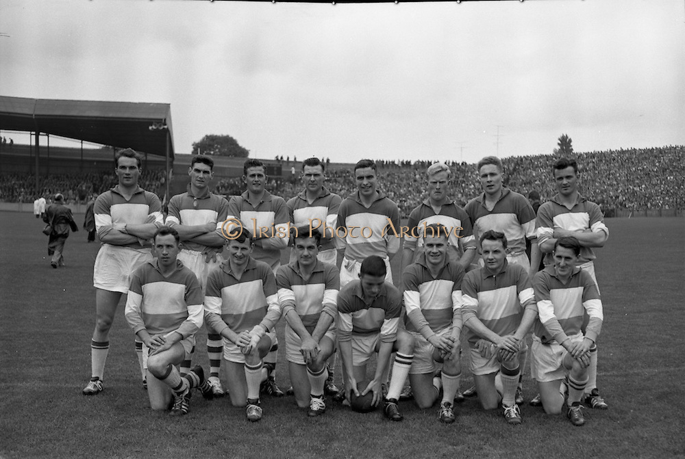 Football, Senior Semi Final, Offaly Team.<br /> 20.08.1961
