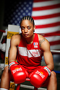 6/24/11 2:37:47 PM -- Colorado Springs, CO. -- A portrait of U.S. Olympic lightweight boxer Queen Underwood, 27, of Seattle, Wash. who will be competing for her fifth title. She began boxing in 2003 and was the 2009 Continental Champion and the 2010 USA Boxing National Champion. She is considered a likely favorite to medal at the 2012 Summer Olympics in London as women's boxing makes its debut as an Olympic sport. -- ...Photo by Marc Piscotty, Freelance.