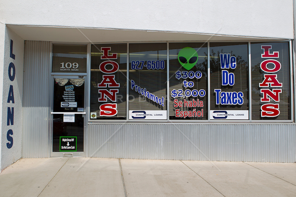 storefront in Roswell, New Mexico