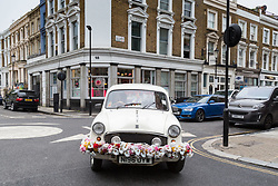 Royal Mail - Music themed streets - All Saints Road. London, May 30 2018.