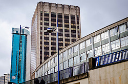 Buildings in Smallbrook Queensway, Birmingham, England UK<br /> <br /> (c) Andrew Wilson | Edinburgh Elite media