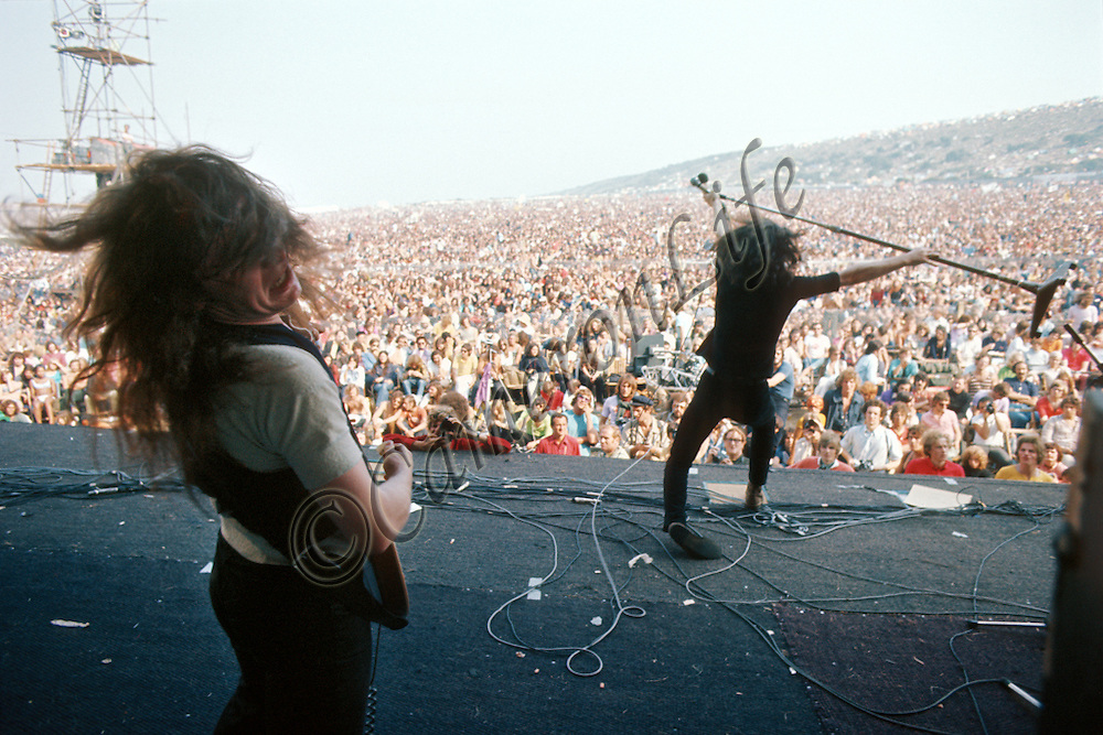 The Isle of Wight Music Festival 1970.  Photograph by Charles Everest
