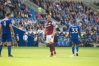 Football - 2017 / 2018 Championship - Cardiff City vs. Aston Villa<br /> <br /> John Terry of Aston Villa looks over his shoulder <br /> , at Cardiff City Stadium<br /> <br /> COLORSPORT/WINSTON BYNORTH