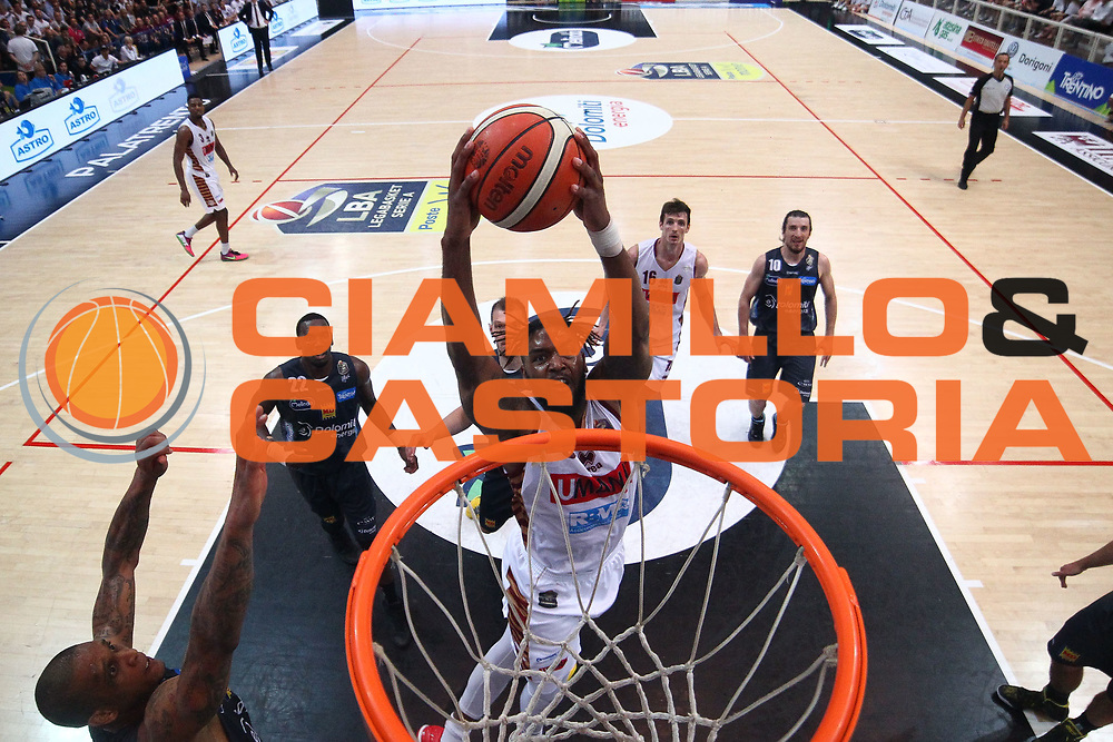 Stone<br /> Dolomiti Energia Aquila Basket Trento - Umana Reyer Venezia <br /> Lega Basket Serie A 2016/17 Finali Gara 03<br /> Trento, 14/06/2017<br /> Foto Ciamillo-Castoria / M. Brondi