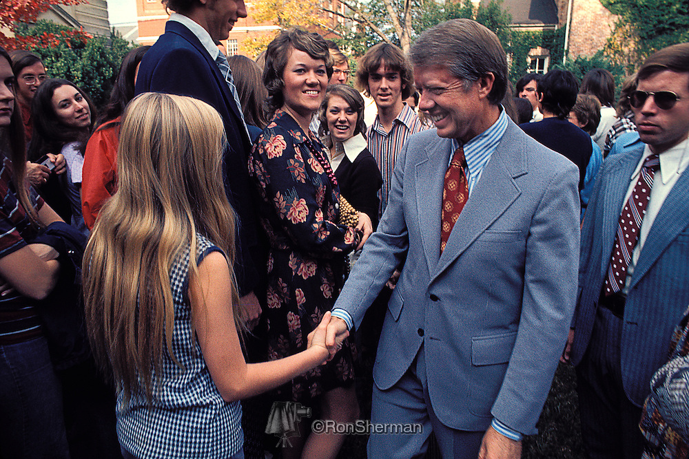Jimmy Carter campaining in Georgia for Governor (1971) 60A1218
