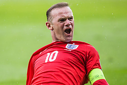 Wayne Rooney of England during the EURO 2016 Qualifier Group E match between Slovenia and England at SRC Stozice on June 14, 2015 in Ljubljana, Slovenia. Photo by Grega Valancic