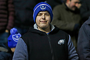 Portsmouth fan during the EFL Sky Bet League 1 match between Coventry City and Portsmouth at the Trillion Trophy Stadium, Birmingham, England on 11 February 2020.