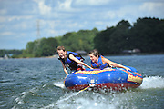 Tubing on Lake Norman of North Carolina