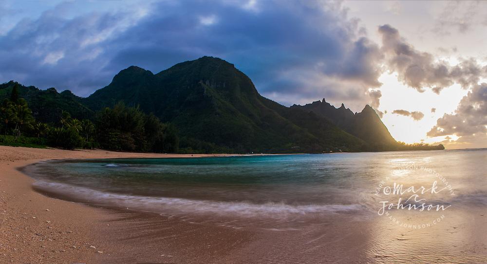 "Haena Beach, aka ""Tunnels Beach"", Kauai, Hawaii"