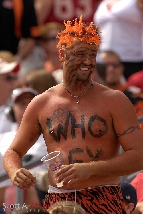 Oct. 15, 2006; Tampa, FL, USA; Cincinnati Bengals fans during the Bengals game against the Tampa Bay Buccaneers at Raymond James Stadium. ...©2006 Scott A. Miller