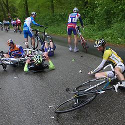 60e ronde van Overijssel crash