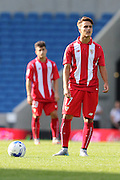Denis Suarez of Sevilla during the Pre-Season Friendly match between Brighton and Hove Albion and Sevilla at the American Express Community Stadium, Brighton and Hove, England on 2 August 2015. Photo by Stuart Butcher.