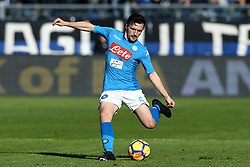 January 21, 2018 - Bergamo, Italy - Mario Rui of Napoli  during the Italian Serie A football match Atalanta Vs Napoli on January 21, 2018 at the 'Atleti Azzurri d'Italia Stadium' in Bergamo. (Credit Image: © Matteo Ciambelli/NurPhoto via ZUMA Press)