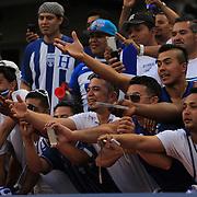 Honduras fans support their team during the Israel V Honduras  International Friendly football match at Citi Field, Queens, New York, USA. 2nd June 2013. Photo Tim Clayton