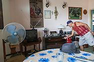 House interior in Havana Vedado, Cuba.