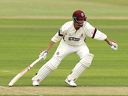 Somerset's Marcus Trescothick looks for a run - Photo mandatory by-line: Robbie Stephenson/JMP - Mobile: 07966 386802 - 21/06/2015 - SPORT - Cricket - Southampton - The Ageas Bowl - Hampshire v Somerset - County Championship Division One