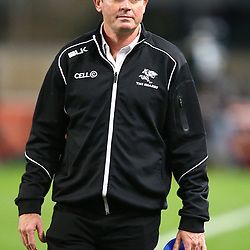 DURBAN, SOUTH AFRICA, 9,JULY, 2016 Sean Everitt (Assistant Coach) of the Cell C Sharks during The Cell C Sharks vs Toyota Cheetahs  Super Rugby Match at Growthpoint Kings Park in Durban, South Africa. (Photo by Steve Haag)<br /> <br /> images for social media must have consent from Steve Haag
